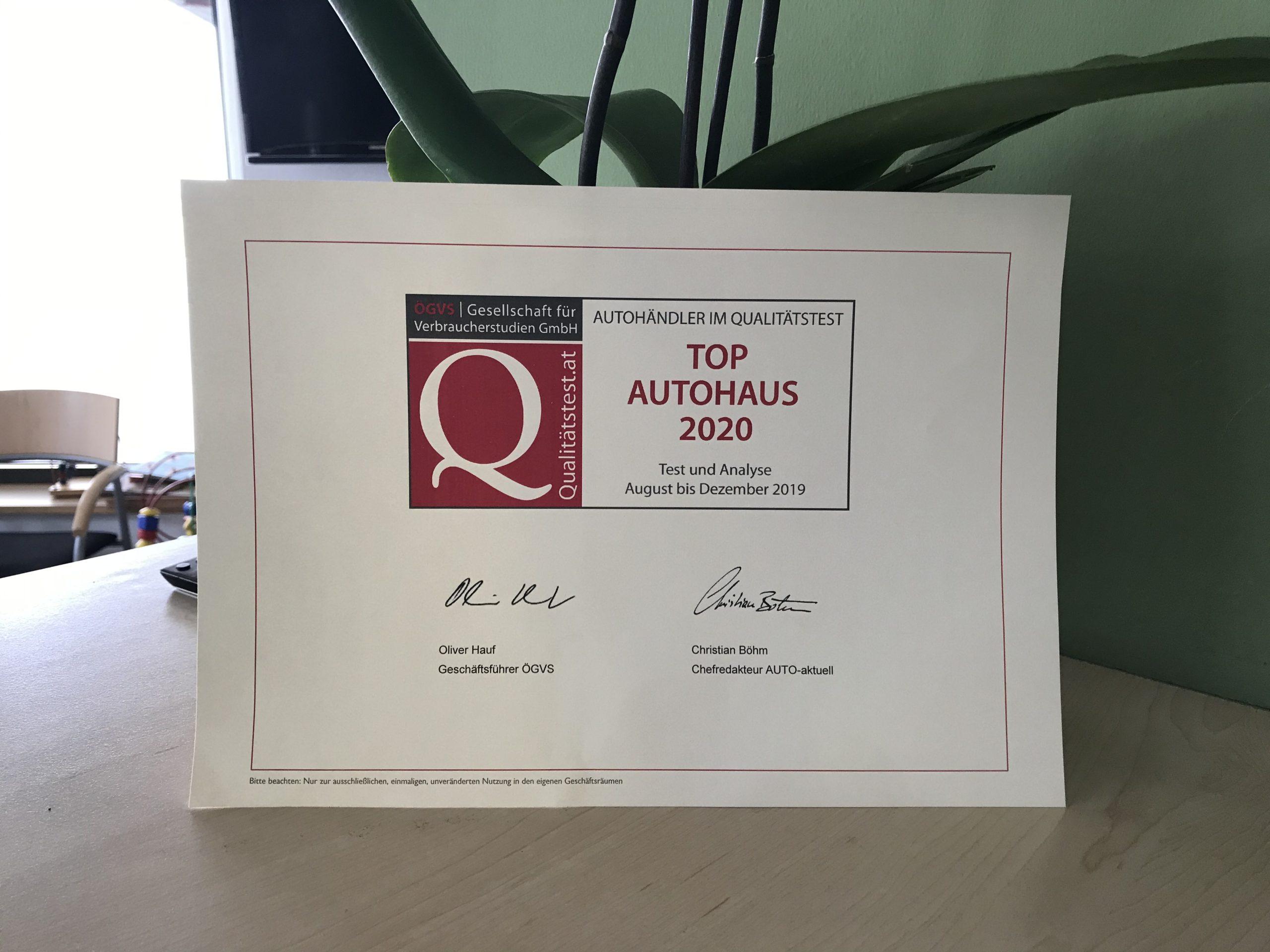 Top Autohaus 2020 Braunau