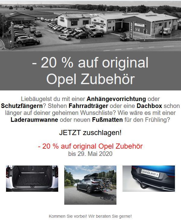Zubehör Aktion Opel Braunau