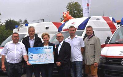 Auto Hatzmann spendet 500 Euro an die Rotes Kreuz Ortstelle Altheim